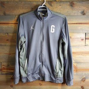 Nike Dry Fit: Gorgetown warm up top, Sz L